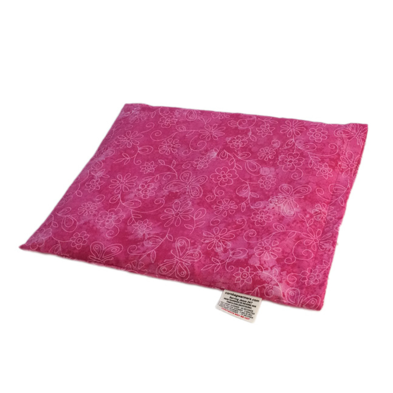 Pink Sundrenched Butterflies Pillow Warmer Microwave Heating Pad
