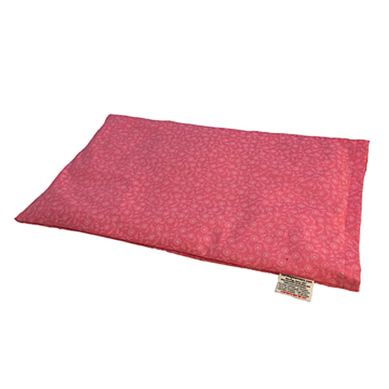 Lap Warmer Microwaveable  Corn Heating Pad - Dusty Pink Roses