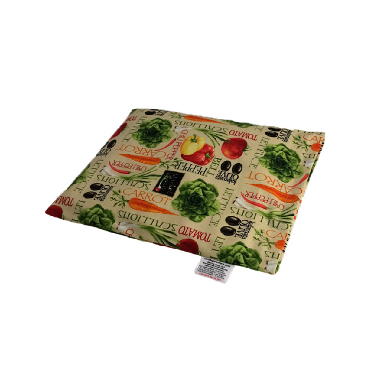 Garden Veggies Pillow Warmer Microwave Heating Pad