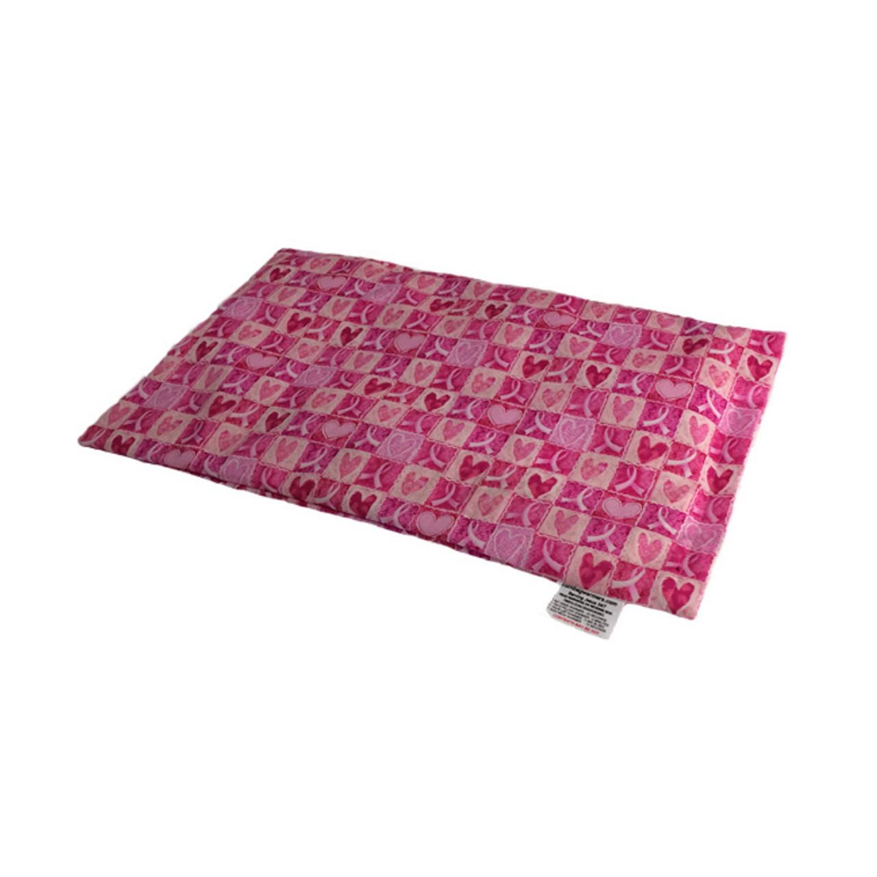 Hope & Love- Breast Cancer Awareness Lap Warmer Microwave Heating Pad