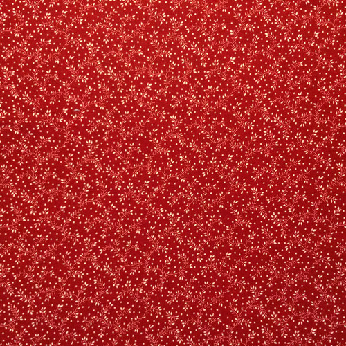 Beautiful Bright Red Background with Small White Flowers Outer Cover for your Microwave Corn Bag Heating Pad