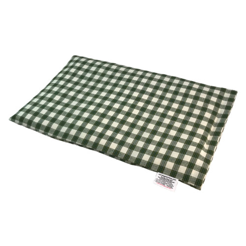 Plaid-Green Lap Cornbag Warmer - Corn Filled Microwave Heating Pad