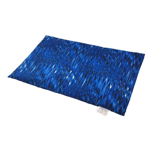 Ice Blue Lap Cornbag Warmer - Corn Filled Microwave Heating Pad