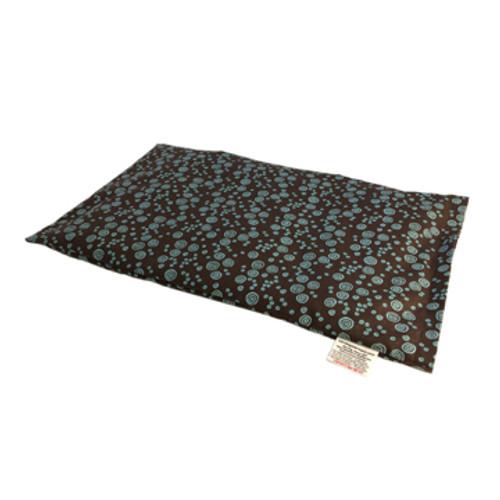 Lap Warmer Microwaveable Corn Heating Pad - Turquoise Fun