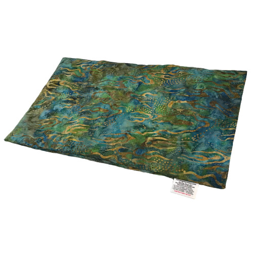 Abstract Earth Microwave Corn Heating Pad, Large Lap Warmer.