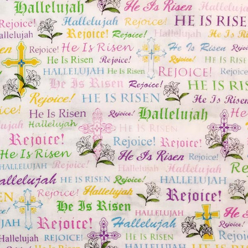 Jesus is Risen - Easter pattern Outer Cover for your Microwave Corn Bag Heating Pad