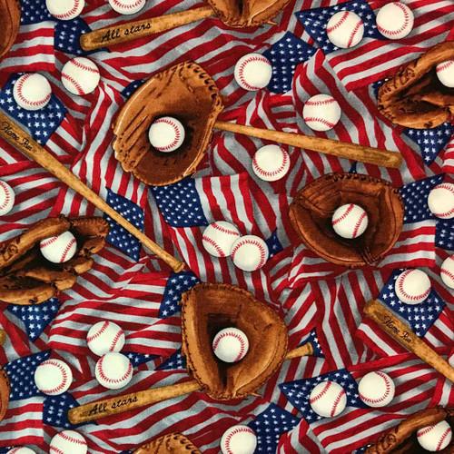 American Baseball Microwaveable Corn Heat Pad