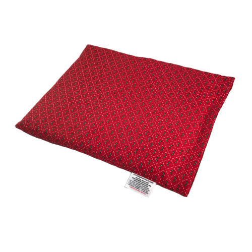 Christmas Holly Pillow Cornbag Warmer - Corn Filled Microwave Heating Pad