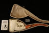 Horses Hand Carved Block Meerschaum Pipe with a fitted CASE 9933