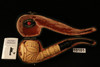 Jumping Dolphin Hand Carved Block Meerschaum Pipe by Mesut with case 10101
