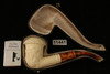 Calabash Block Meerschaum Pipe Carved by Emin Brothers with custom case 11441
