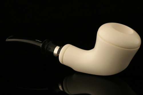 IMP Meerschaum Pipe - Meaux - Hand Carved in a fitted CASE i1490