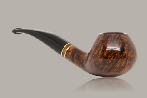 Chacom - Club Briar Smoking Pipe with pouch