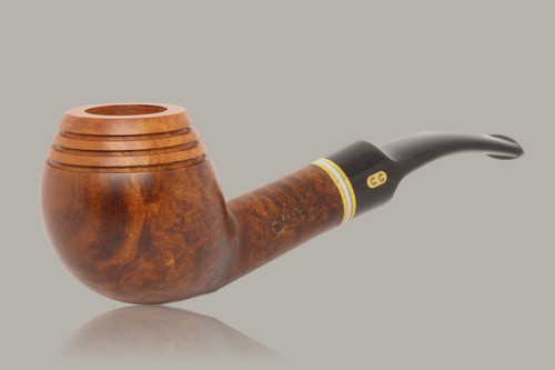 Chacom - Radiator Apple Briar Smoking Pipe with pouch