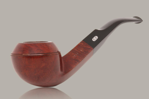 Chacom - Bulldog Briar Smoking Pipe with pouch