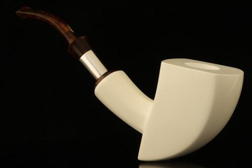 IMP Meerschaum Pipe - Achada - Hand Carved with custom case i2126