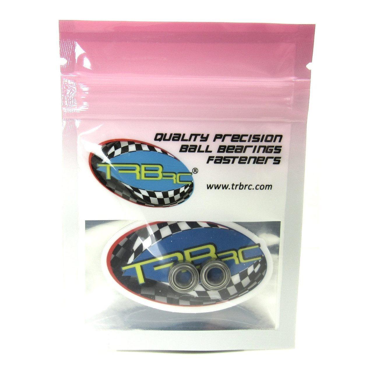 TRB RC 5x10x4mm Precision Ceramic Ball Bearings Metal Shields (2)