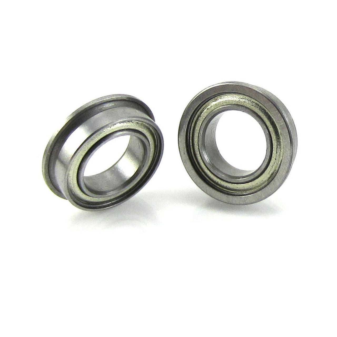 TRB RC 6x10x3mm Flanged Precision Ball Bearings ABEC 3 Metal Shields (2)