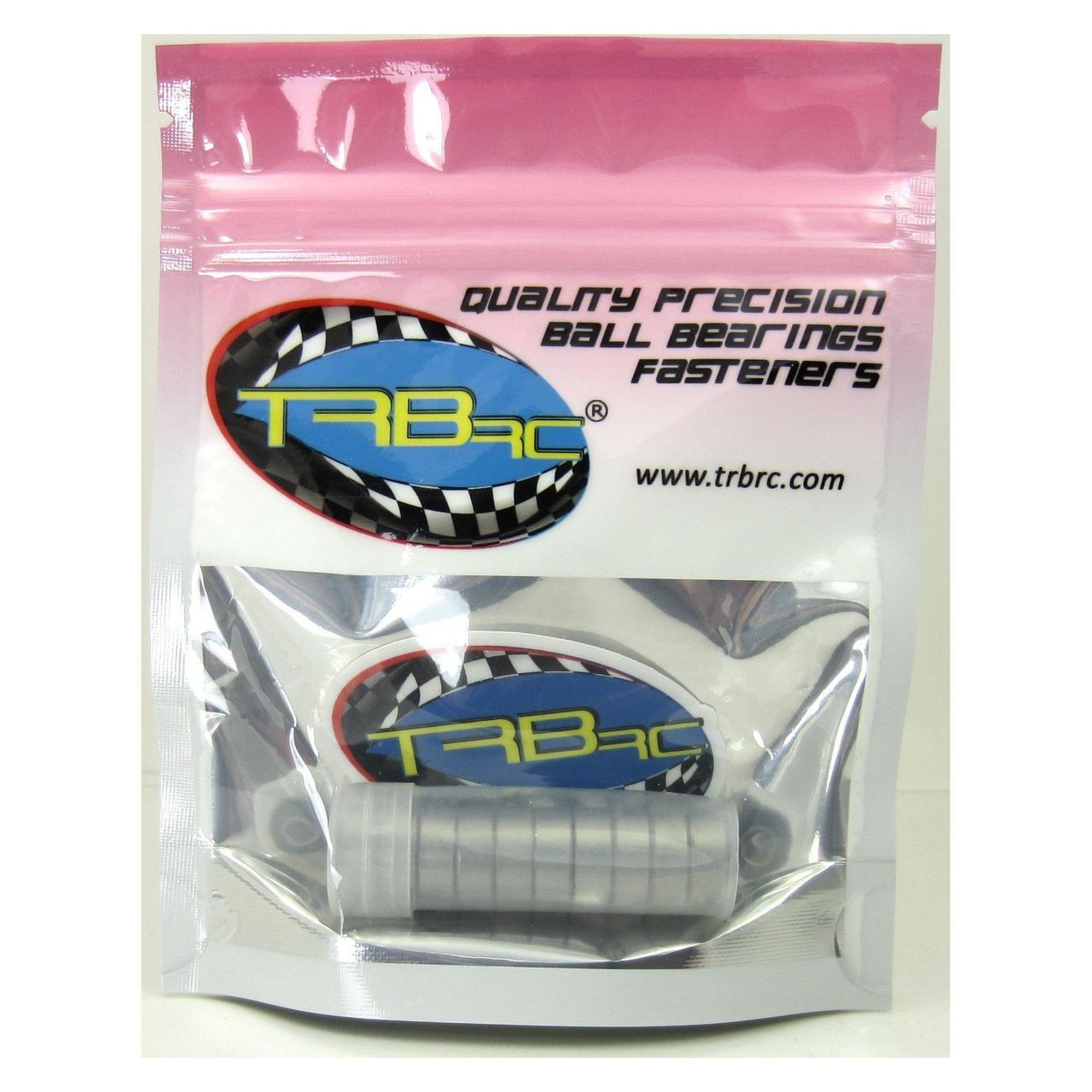 TRB RC 3/16x1/2x49/250 Precision Ball Bearings ABEC 3 Rubber Sealed (10)