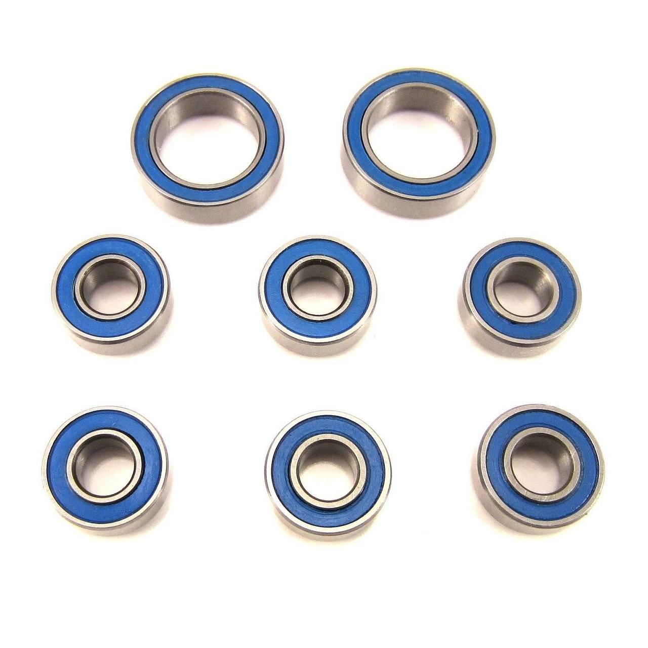 TRB RC Wheel-Axle Bearings Set BLU 5x11x4mm-10x15x4mm Axial SCX10 Wraith AX10