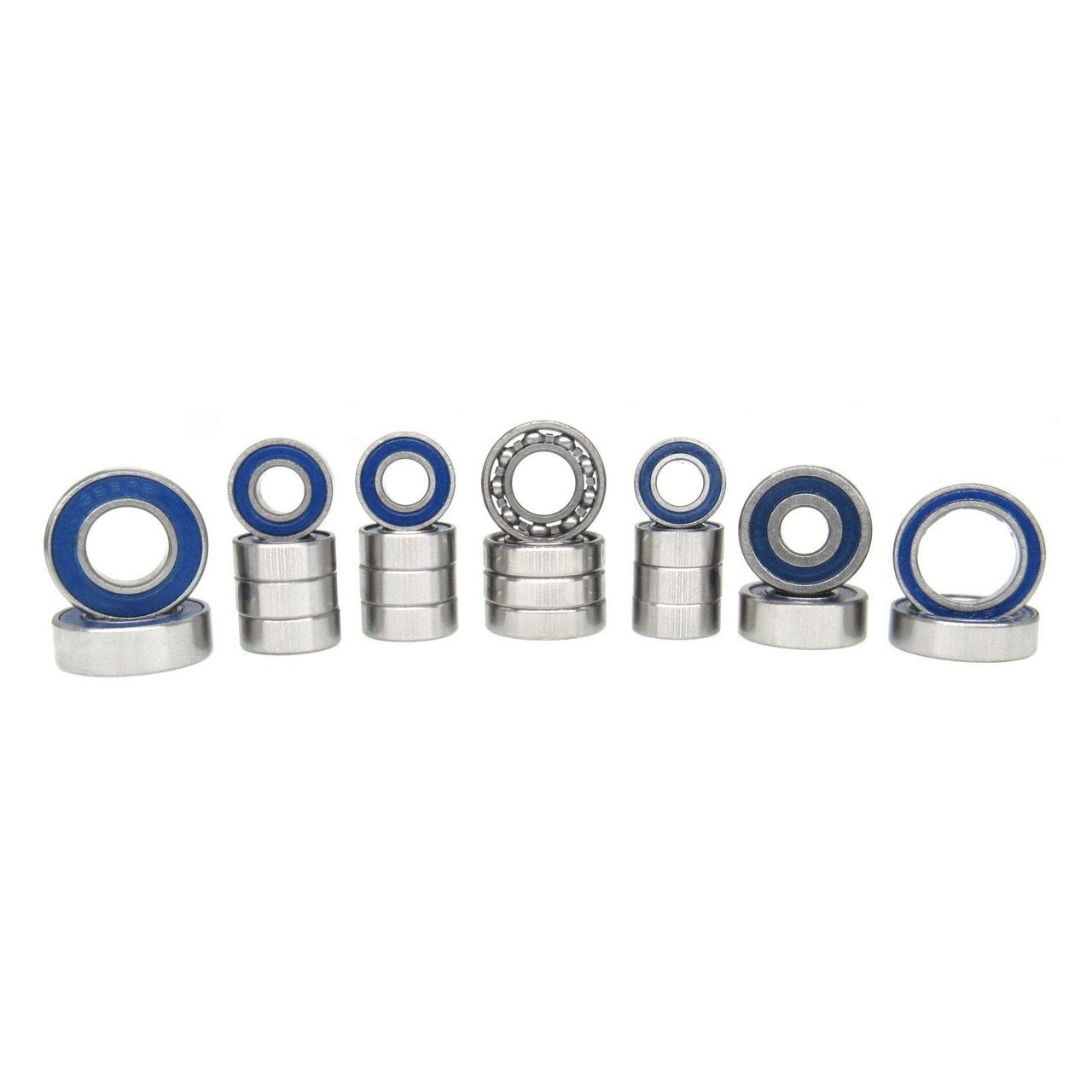 TRB RC Ball Bearing V2 Kit (22) Blue Axial SCX10 II
