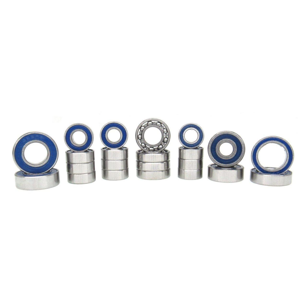 TRB RC Ball Bearing V2 Kit (22) Blue Axial SCX10 II