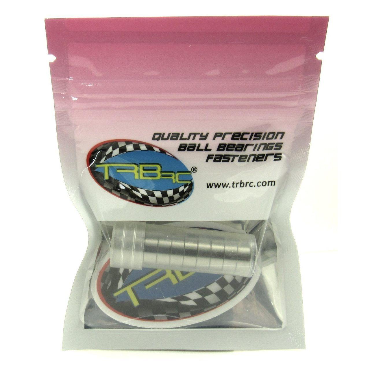 TRB RC 5x10x4mm Precision Clutch Ball Bearings Metal Shields (10)