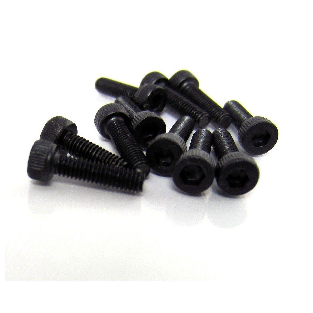 TRB RC 2.5 x 10mm Socket Head Cap Screw Class 12.9 Hard Alloy Steel (10)