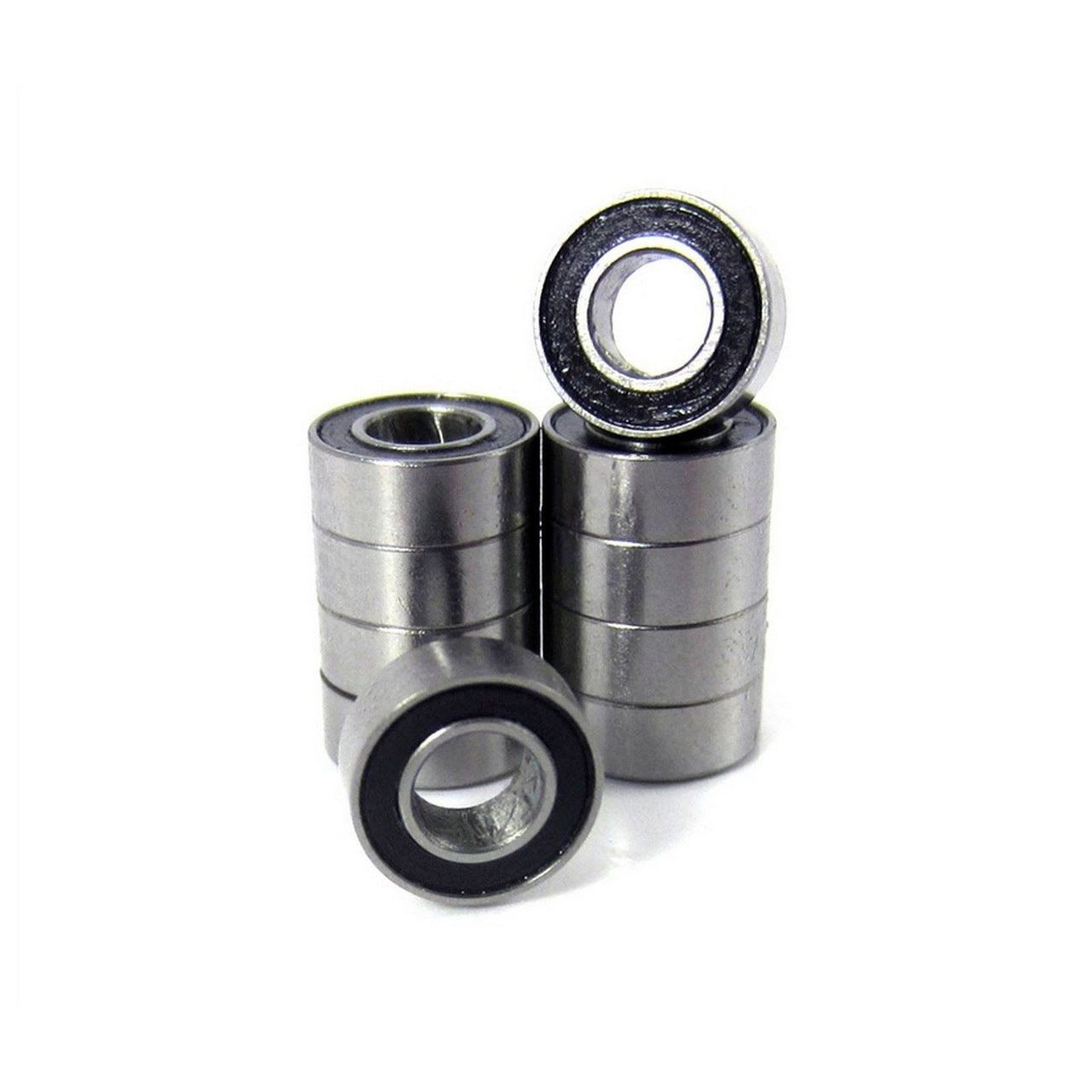 TRB RC 4x8x3mm Precision Ball Bearings ABEC 3 Rubber Sealed (10)