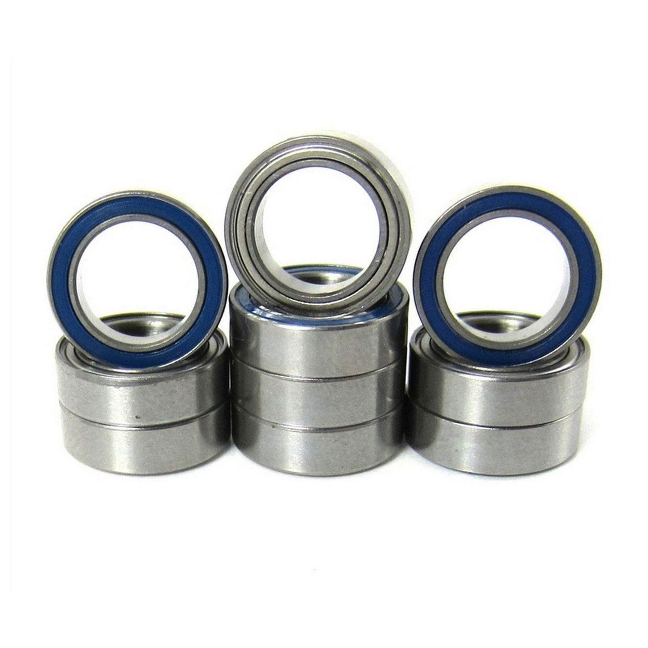 TRB RC 8x12x3.5mm Precision Ball Bearings ABEC 5 Hybrid Seals (10)