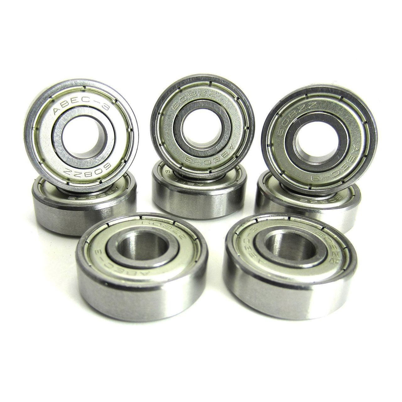 TRB RC 8x22x7mm ABEC 3 Precision Skate Ball Bearings Metal Shields
