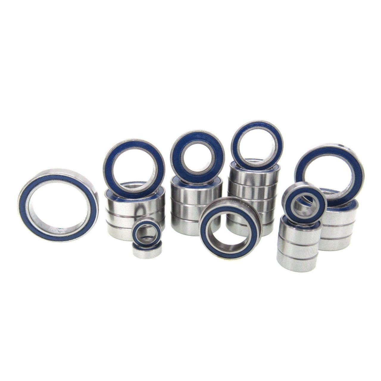 Arrma Kraton 4S BLX Precision Bearing Kit Rubber Seals Blue (26)