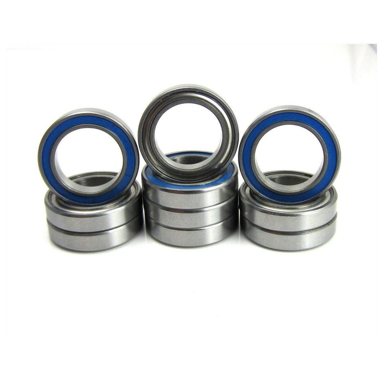 TRB RC 1/2x3/4x5/32 Precision Ball Bearings ABEC 5 Hybrid Seals (10)