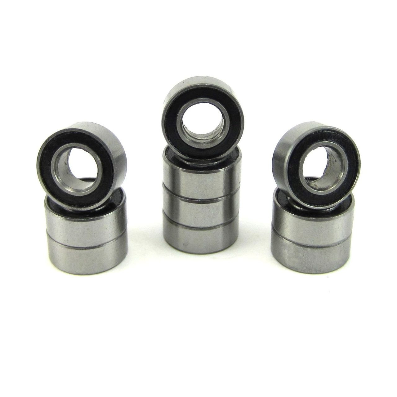 TRB RC 5x10x4mm Precision Clutch Ball Bearings Rubber Sealed (10)