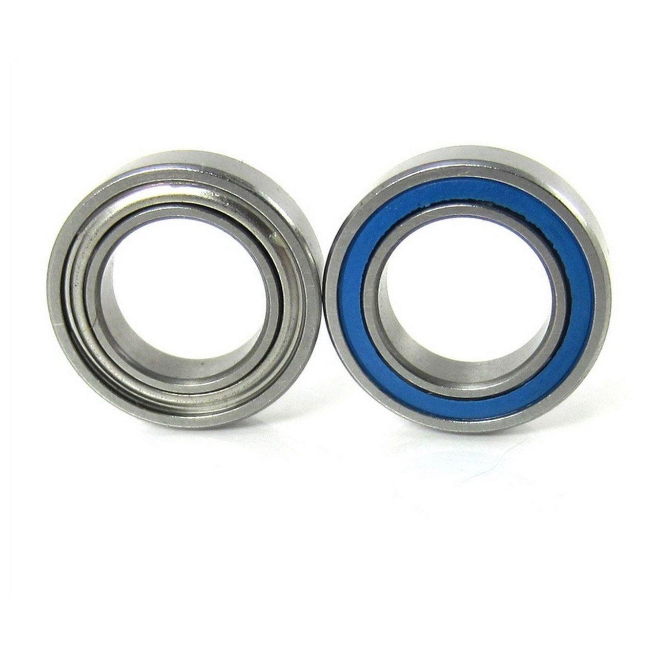 TRB RC 3/8x5/8x5/32 Precision Ceramic Ball Bearings Hybrid Seals (2)