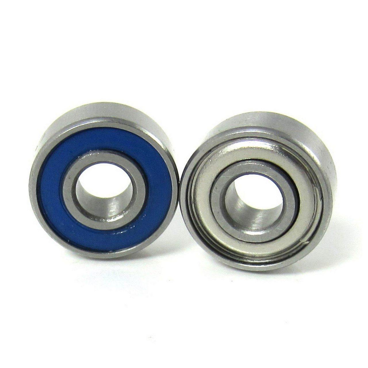 3/16x1/2x49/250 Precision Ball Bearings ABEC 5 Hybrid Seals (2)
