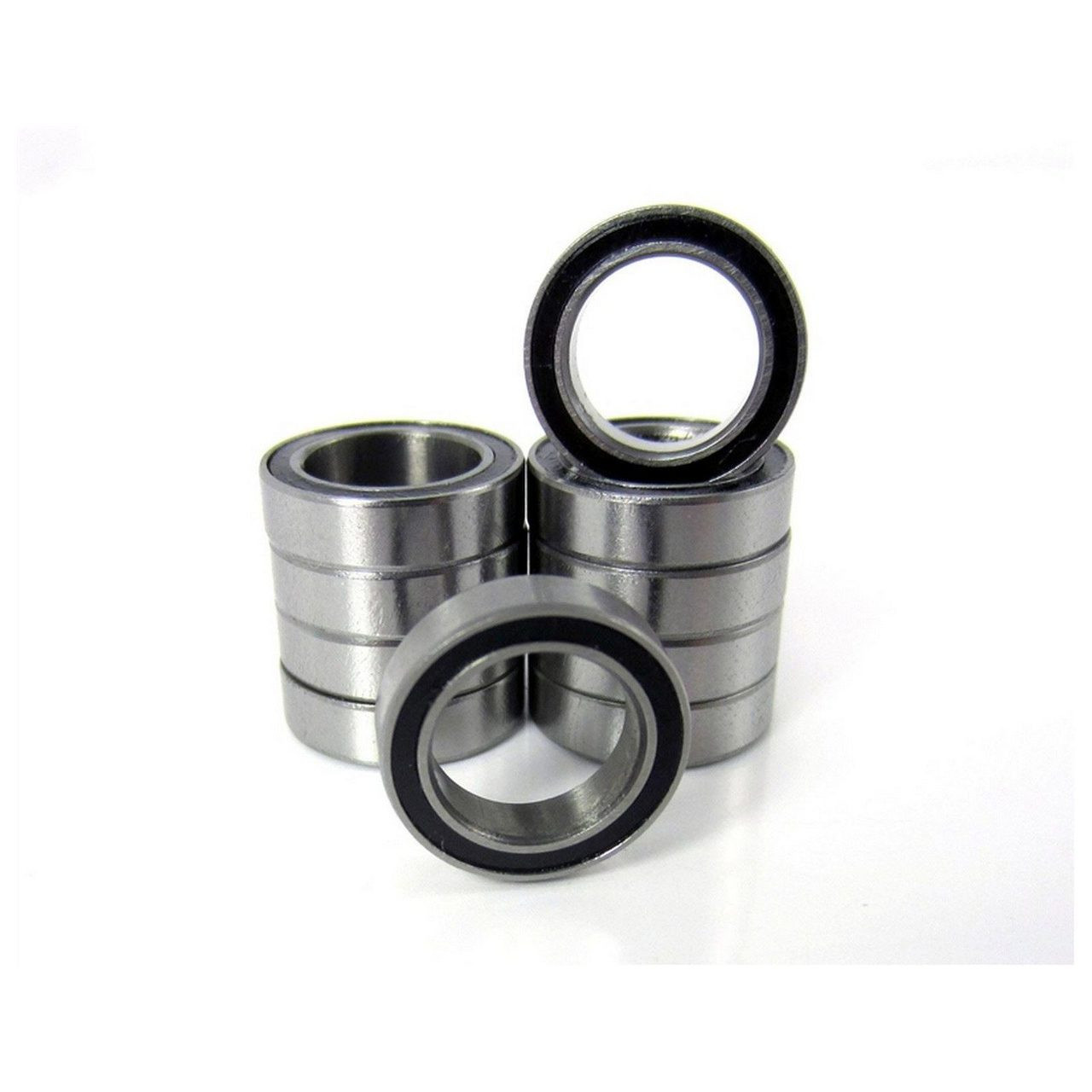 TRB RC 10x15x4mm Precision Ball Bearings ABEC 3 Rubber Sealed (10)