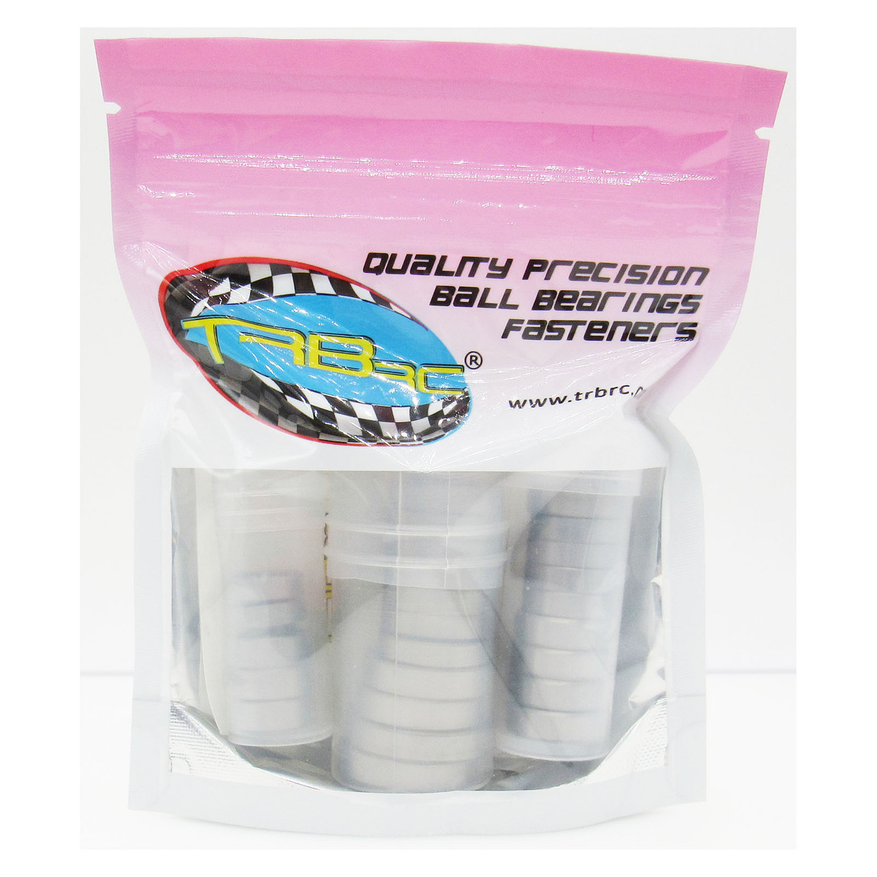 TRB RC Ball Bearing Kit (27) Rubber Seals Blue Traxxas MAXX 4S