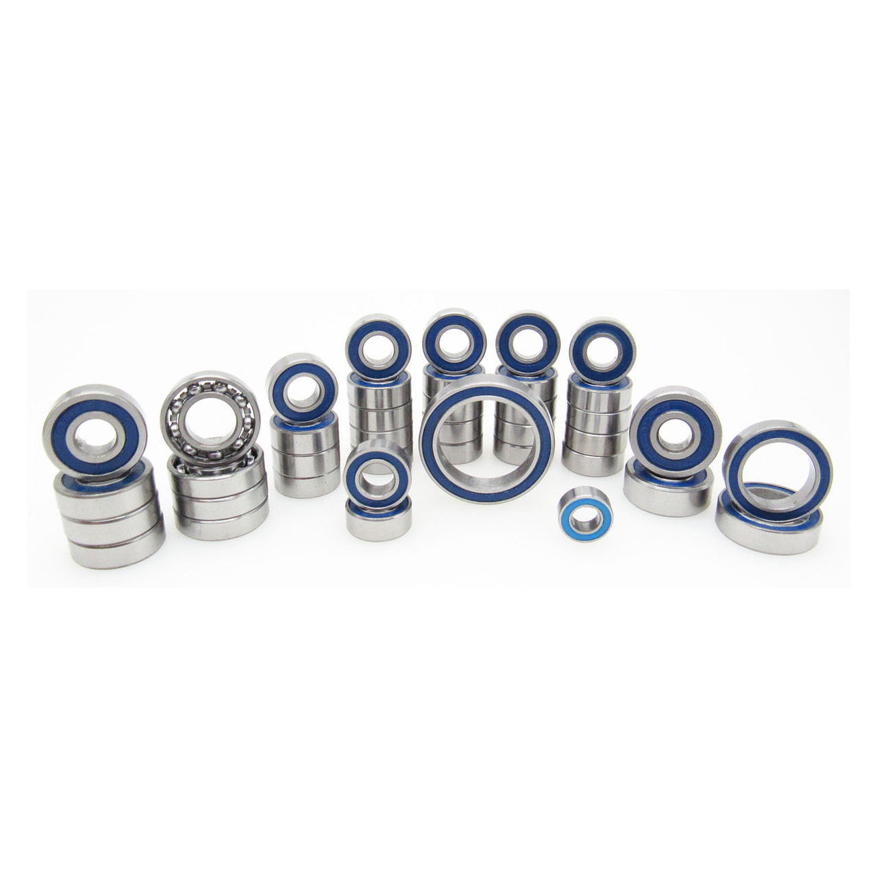 TRB RC Bearing Kit (40) Rubber Seals for Axial SCX10 III