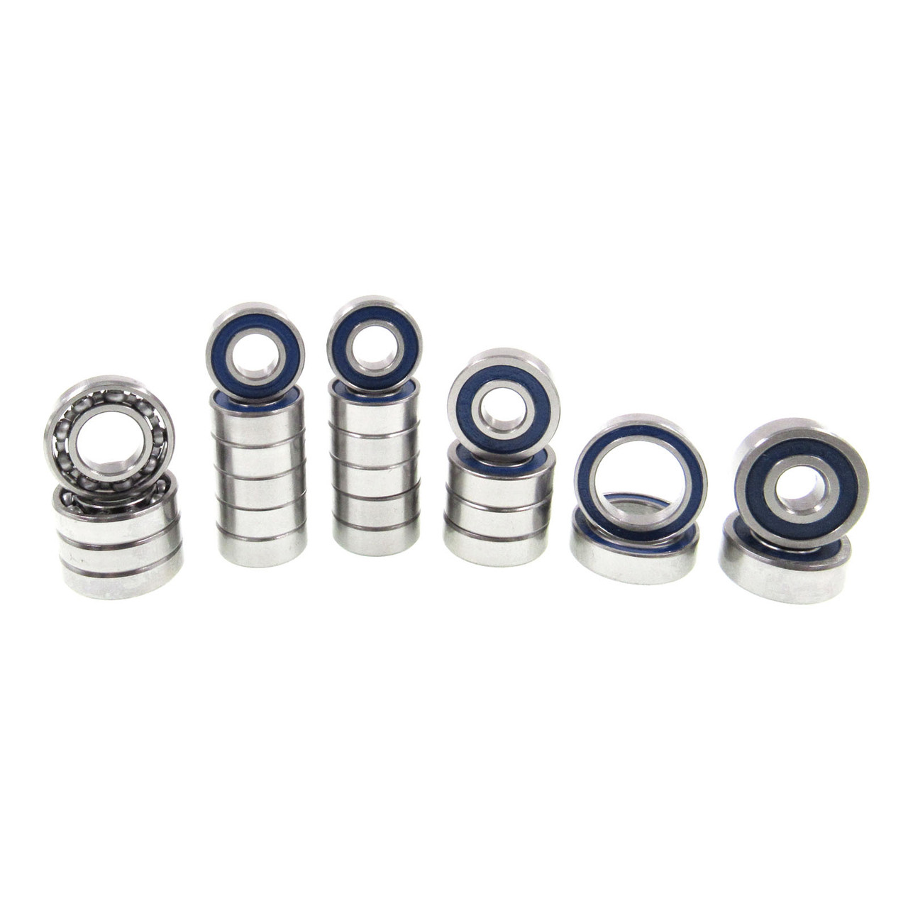 TRB RC AR45 Front & Rear Portal Axle Ball Bearing Kit (24) Axial SCX10III
