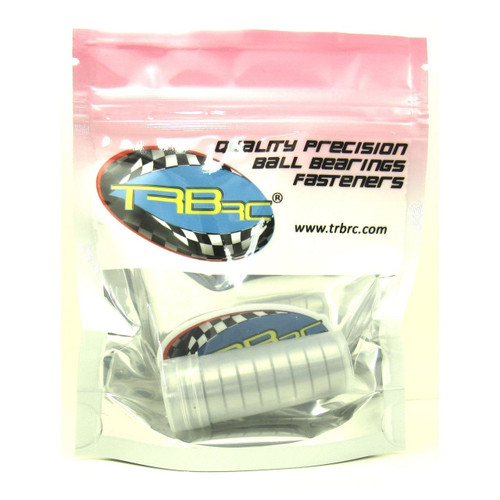 TRB RC 6x16x5mm Precision Ball Bearings ABEC 3 Metal Shields (10)