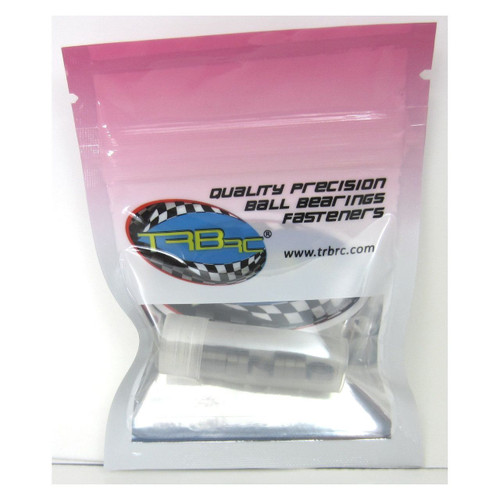 TRB RC 4x7x2.5mm Precision Ball Bearings ABEC 3 Rubber Sealed BLU (10)