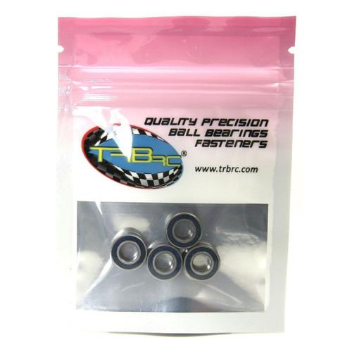 TRB RC 6x12x4mm Precision Ball Bearings ABEC 3 Rubber Sealed BLU (4)