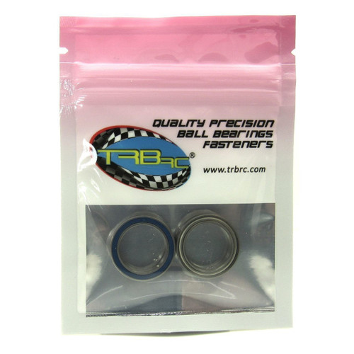 TRB RC 15x21x4mm Precision Ball Bearings ABEC 5 Hybrid Seals (2)