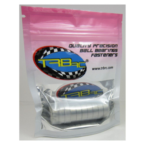 TRB RC 6x19x6mm Precision Ball Bearings ABEC 3 Metal Shields (10) 626-ZZ