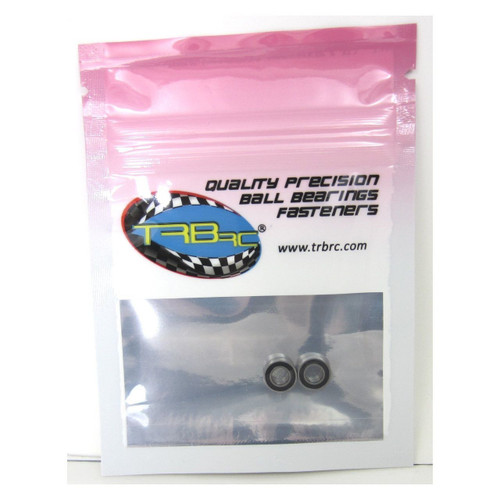 TRB RC 4x8x3mm Precision Ball Bearings ABEC 3 Rubber Sealed (2)