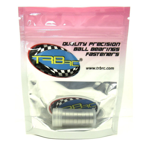 TRB RC 10x15x4mm Precision Ball Bearings ABEC 3 Metal Shields (10)