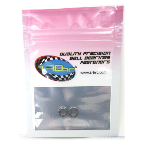 TRB RC 5x8x2.5mm Precision Ball Bearings ABEC 3 Metal Shields (2)