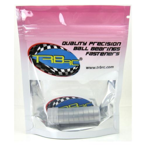 TRB RC 6x13x5mm Precision Ball Bearings ABEC 3 Rubber Sealed BLU (10)