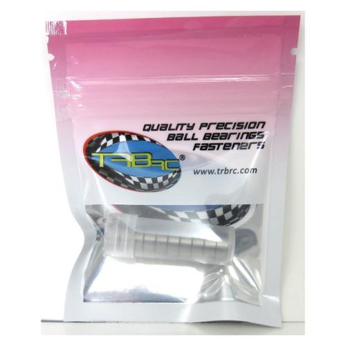 TRB RC 5x10x4mm Precision Ball Bearings ABEC 3 Rubber Sealed BLU (10)